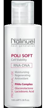 Пилинг лактобионовый для сухой поврежденной кожи | Poli Soft